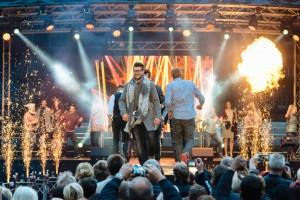14.10.2016 / Chemnitz / Modeshow, Veranstaltung zur Eröffnung des Konsum Landenlokals »Xquisit« in der Ringstraße 15 in 09247 Chemnitz / Foto: Henry Sowinski